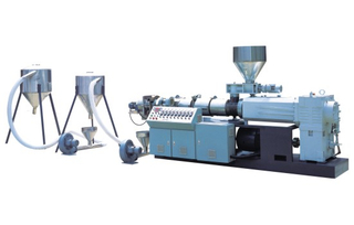 PVC Wind Cooled Mould Cutting Granule Making Machine
