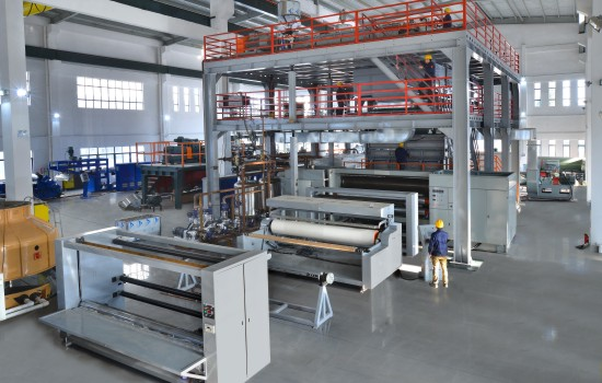 PP Non-Woven Fabric Extrusion Machine