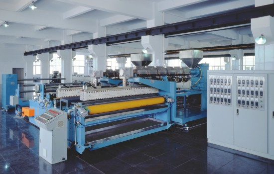 LDPE Bubble Film Extrusion Line