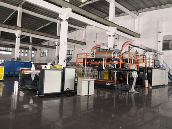 1.6 meter wide melt blown fabric machine is ready